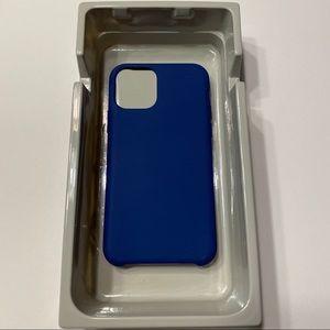 NWOT Navy Blue Heyday iPhone 11 Pro Case Hard Back